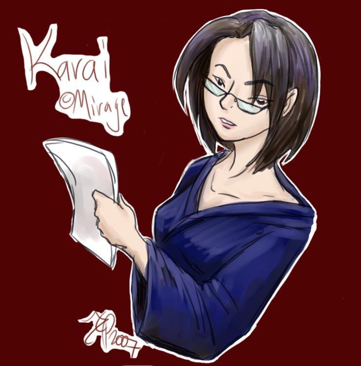 Karai in Glasses