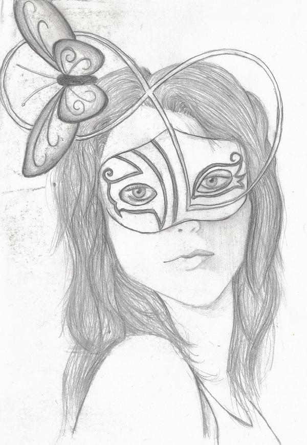 Masquerade Girl By Blazing Eyes