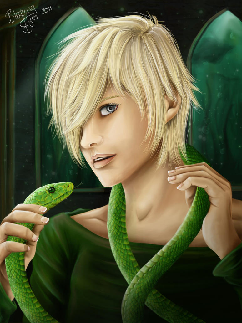 HP: Slytherin Pride by blazing-eyes