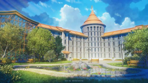 Schoolyard | Caihong Academy