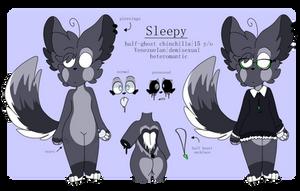 Sleepy's Ref [temporary ref|main fursona] by cinnabiis