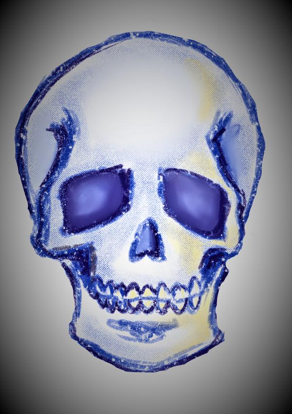 Skull by LOUSY-1001-0100