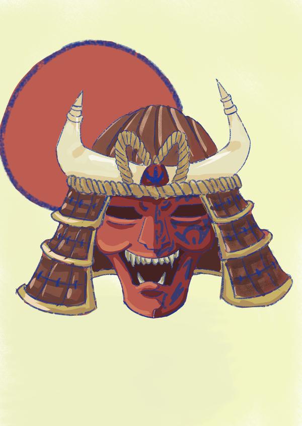 Samurai Mask by LOUSY-1001-0100