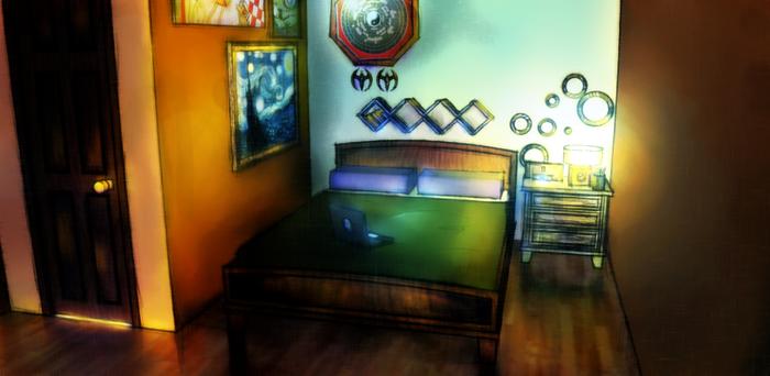 Room Background Practice