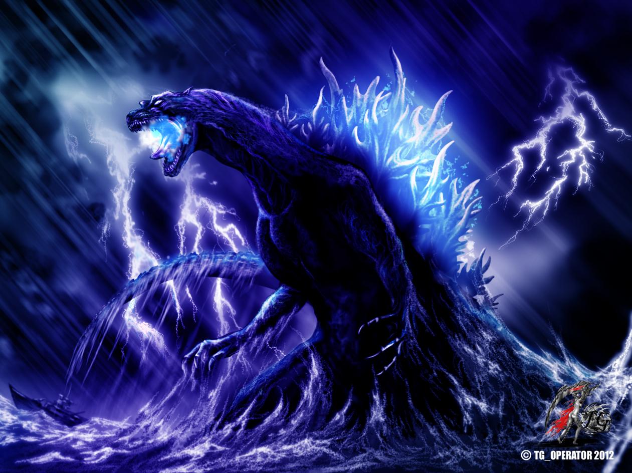 Godzilla Pacific storm by TGoperator