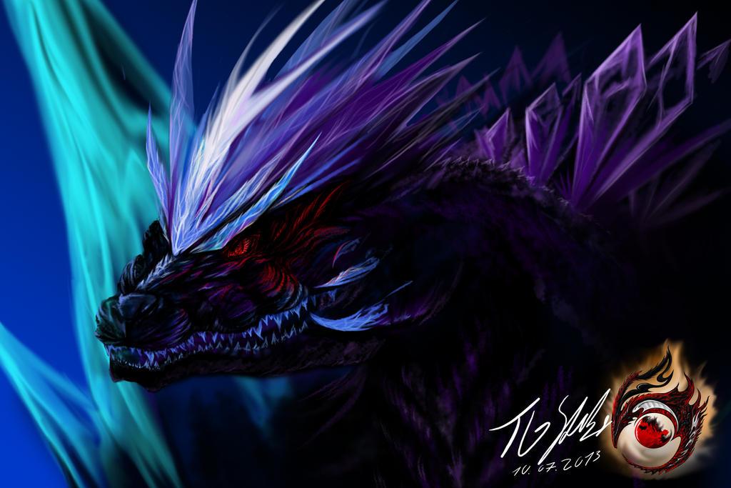 Spacegodzilla vs slatter iris raiju and otachi - Spacebattles com ...