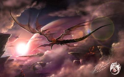 Flug der Ra
