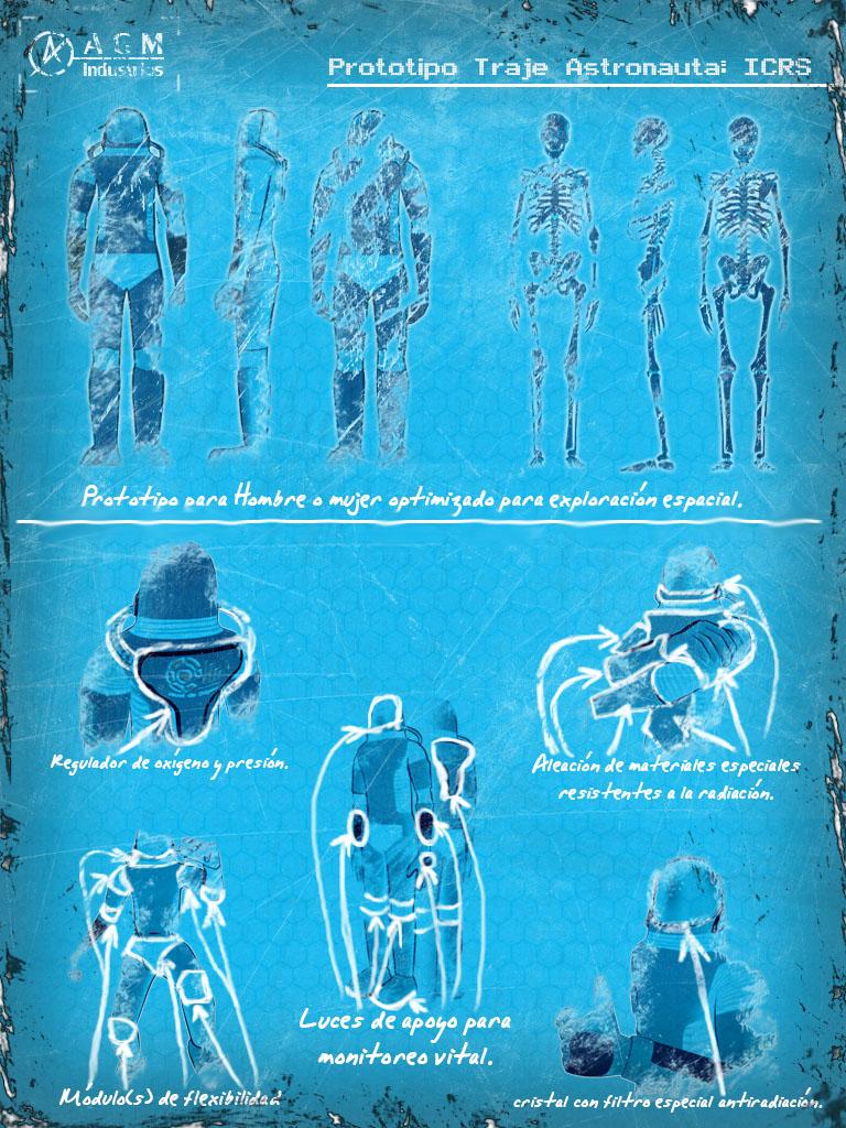 Blueprint Astronauta by vintarbbc