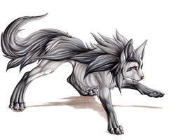 Mightyena by Lyanti
