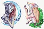 Lunar Epitaph badges