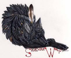 Shadowwolf badge by Lyanti