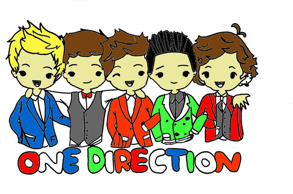 One direction cartoon by directioner5220 on deviantart one direction cartoon by directioner5220 voltagebd Images