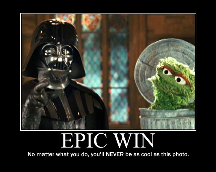 Epic Win Demotivational by LaDracul
