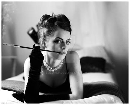 Inspired by Audrey Hepburn