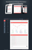 Smart Dashboard UI design by awaisfarooq