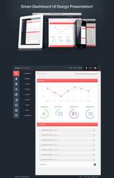 Smart Dashboard UI design by awaisfarooq