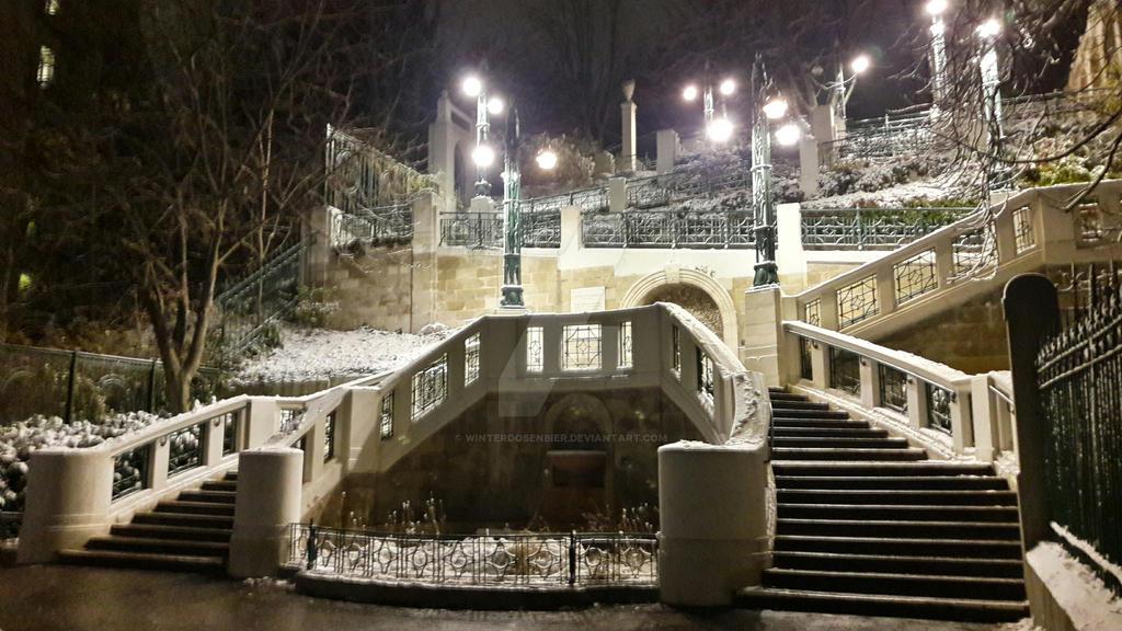 Strudelhofstiege in Vienna  by Winterdosenbier