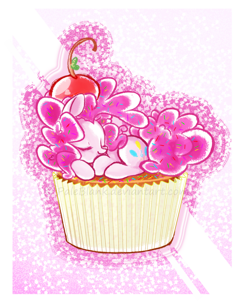 Pink Cupcake by PaleBlank