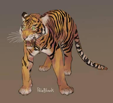 Tiger by PaleBlank