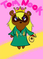 Super Crowned Tom Nook by PlayTheFox