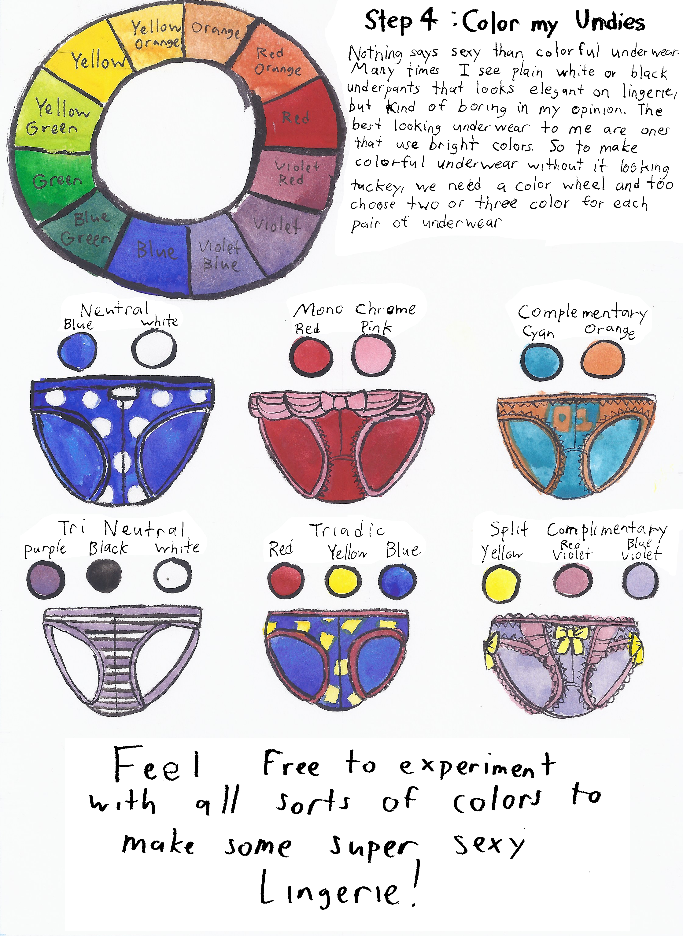 How To Draw Underwear Page6 By Technocolor001