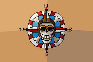 Aviator Skull Pirate Flag - Unearned Bounty by RollToNotDie