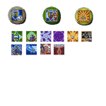 Heroes for Hire Ability Icons by RollToNotDie