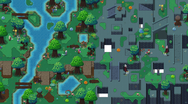 Galatia Forest Tilemap Mock-up