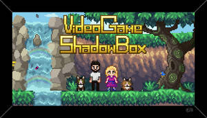 Video Game Shadow Box - Business Card