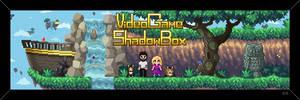 Video Game Shadow Box - Shop Banner