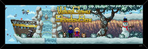 Video Game Shadow Box - Winter Shop Banner by RollToNotDie