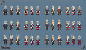 Shinigami Student Hairstyles (1/2) by RollToNotDie