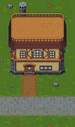 Village Cottage Tileset