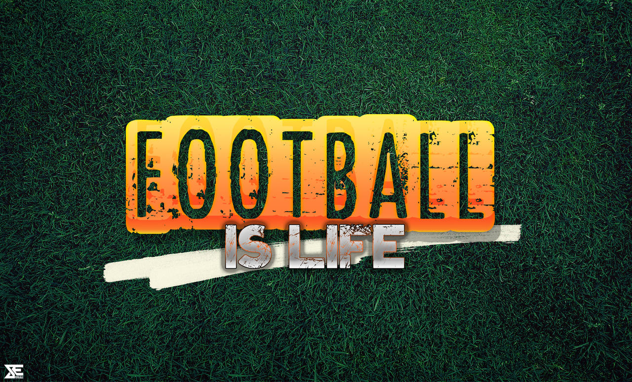 Football is life wallpaper