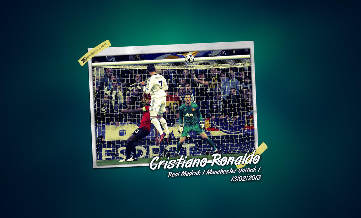 Cristiano Ronaldo goal by beneagle
