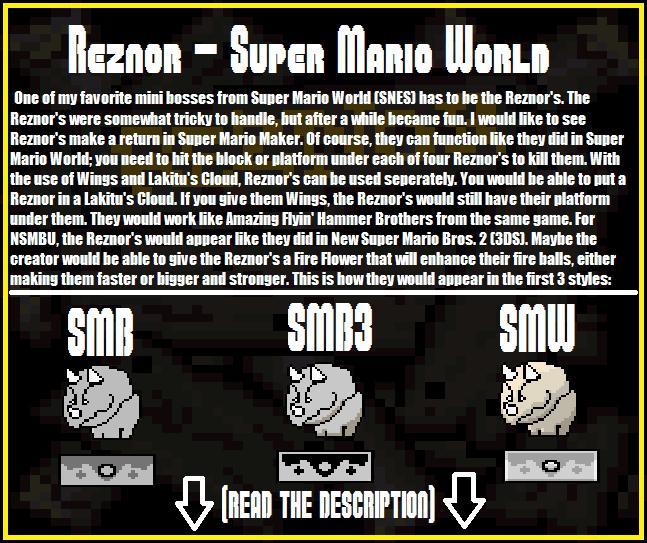 super mario maker idea 06 reznor by zekezurita on