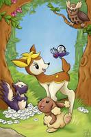 Movies With Pokemon - Bambi by KariOhki