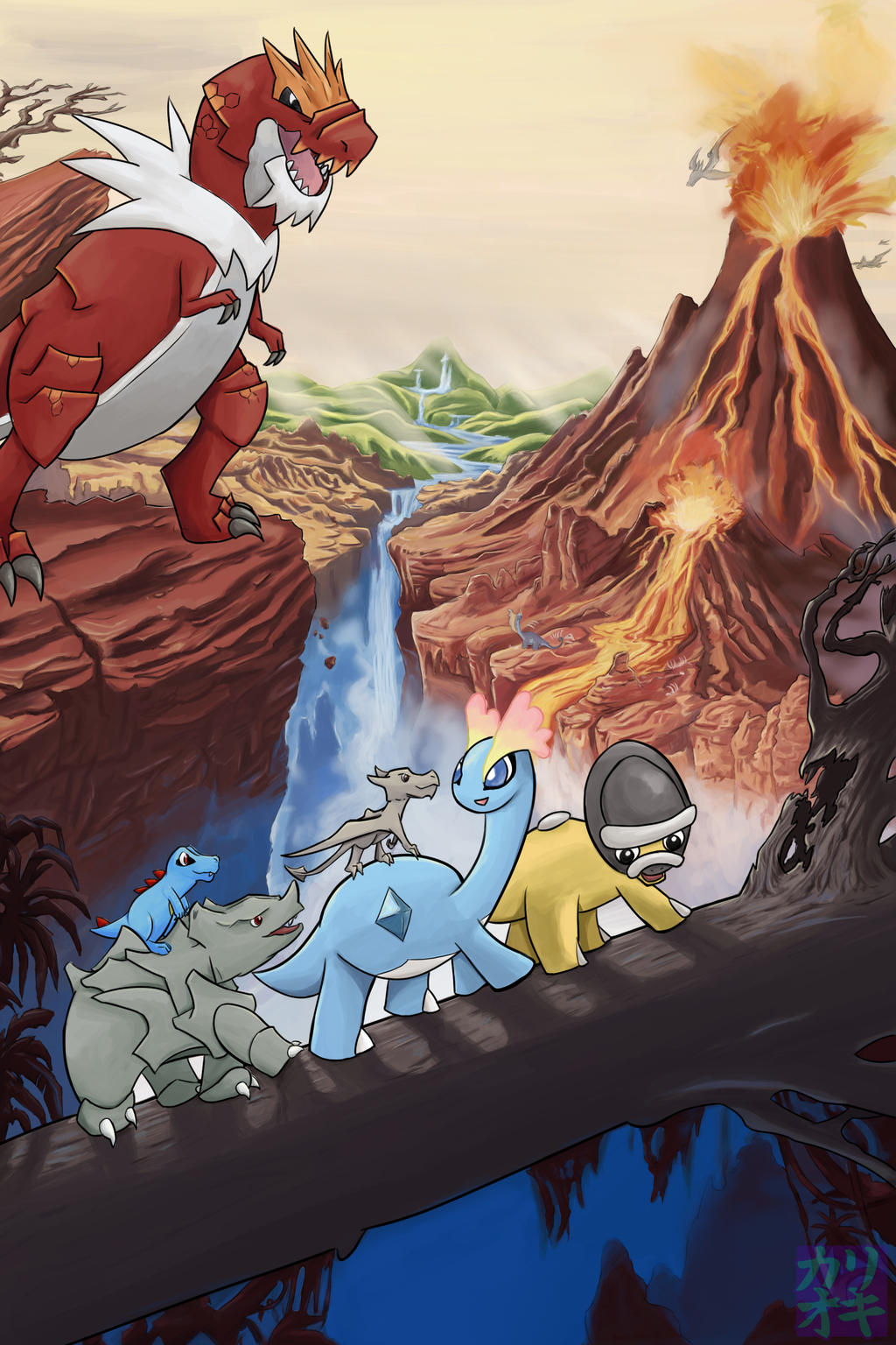 movies with pokemon the land before time by kariohki on deviantart