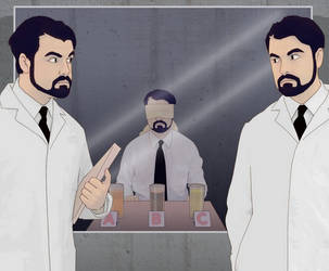 The One About Research by The-DaneMen