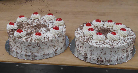 Black Forest cakes by manders123