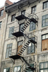 Stairs on a building by manders123