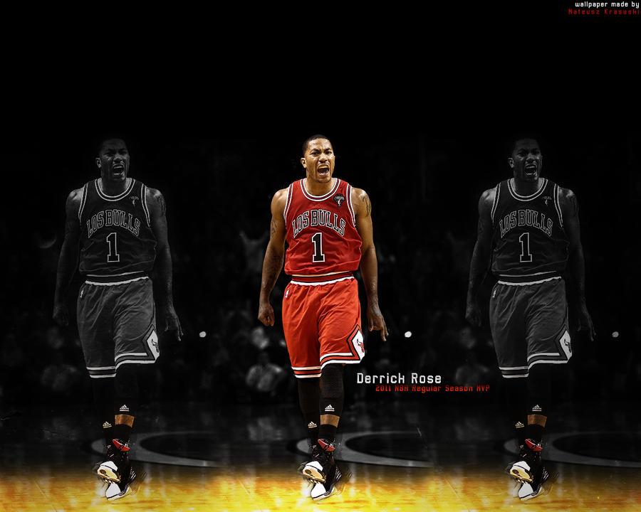 Derrick Rose Wallpaper Mvp Derrick Rose - 2011 NBA RS MVP
