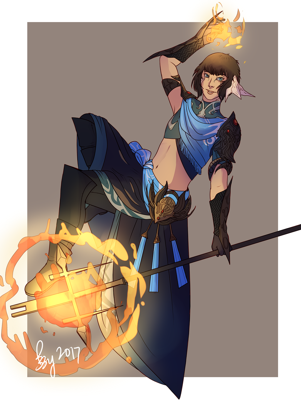 Black Mage by Lecoulte