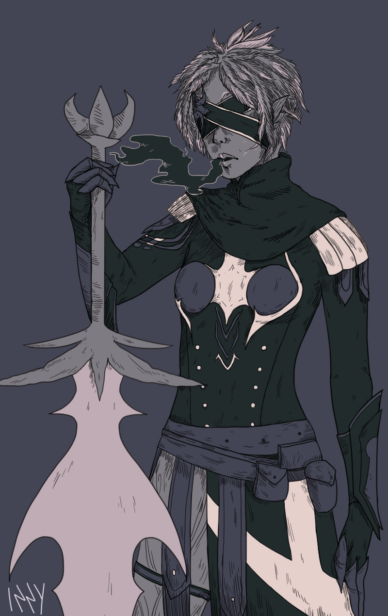Commission: Reaper by Lecoulte