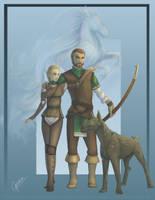 Amara and Bernard by Makena