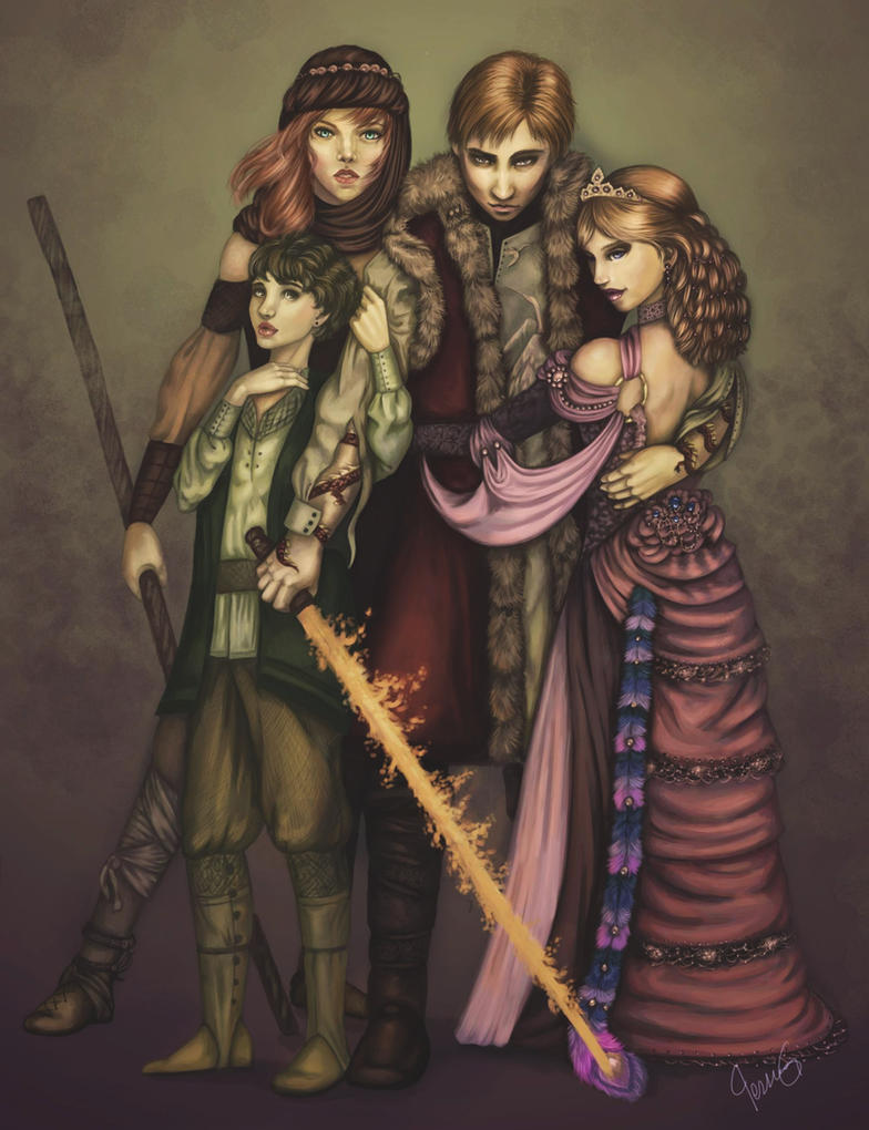 Rand And His Ladies By Makena On Deviantart