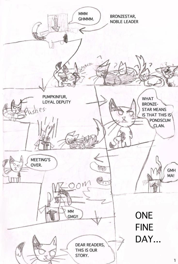 Pondscum Clan Page 1 by KokePasu