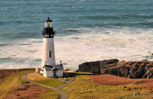 Yaquina Head Lighthouse III by m-faccone