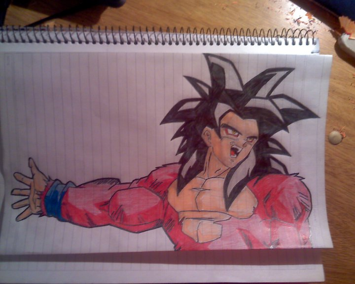 Goku SsJ 4 by Rodrinex on DeviantArt