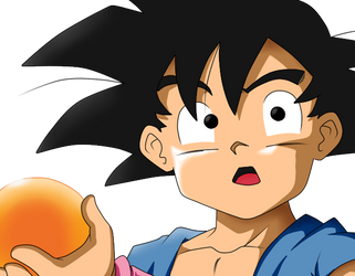 Goku chiquito (GT) remake by Rodrinex
